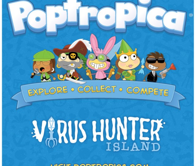 Poptropicas New Virus Hunter Island Takes Players On A Trip Inside The Human Body