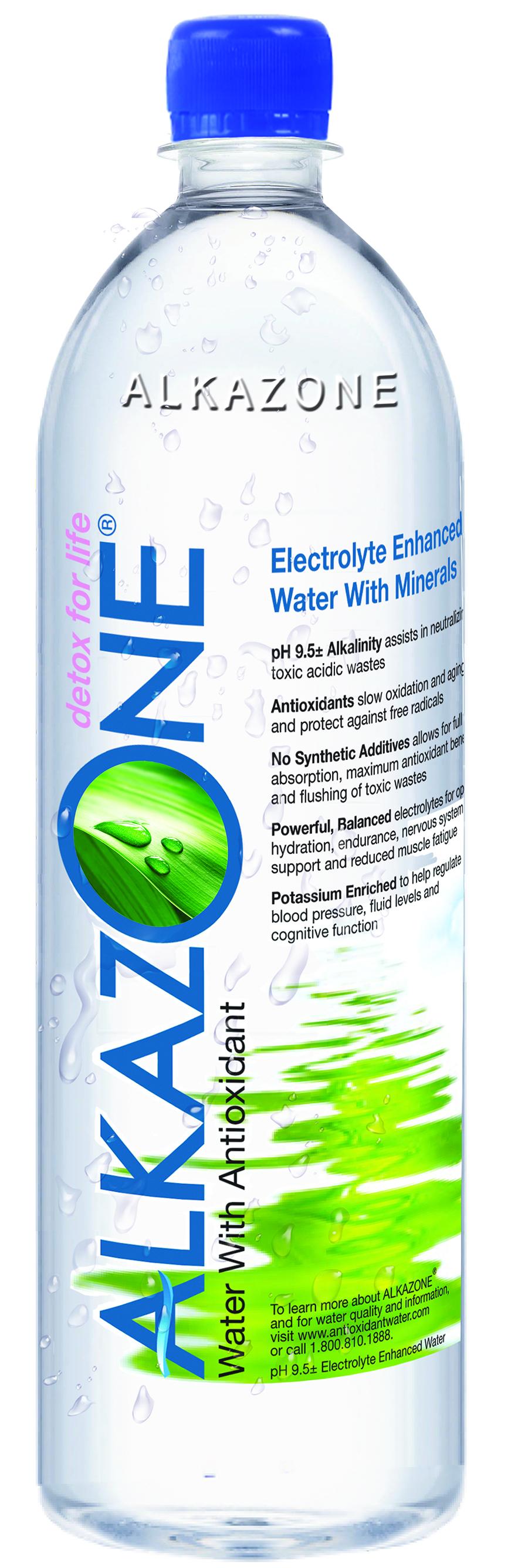 Alkazone® Antioxidant Bottled Water is the Lead Sponsor ...