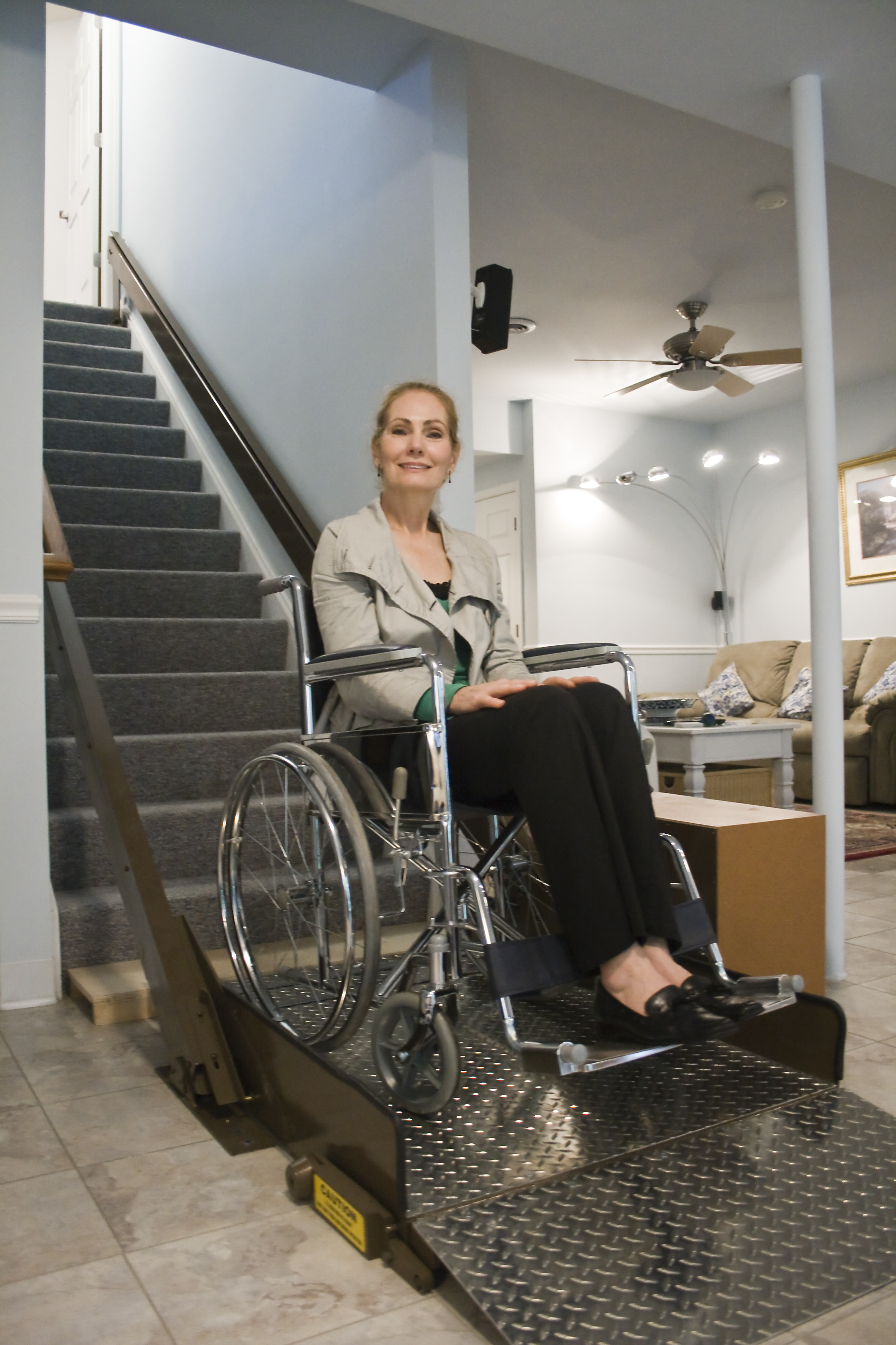 wheelchair lift for stairs used office chair new tips on inclined platform speed governor
