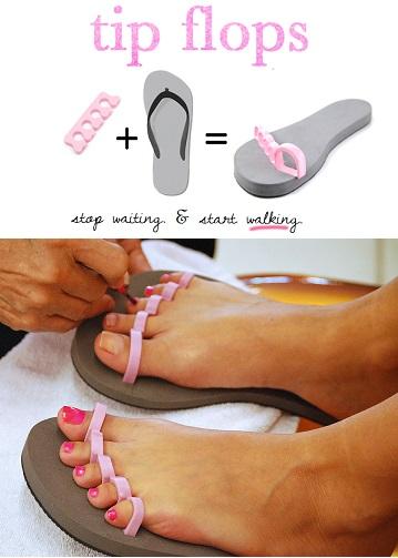 Tip Flops Stop Waiting  Start Walking