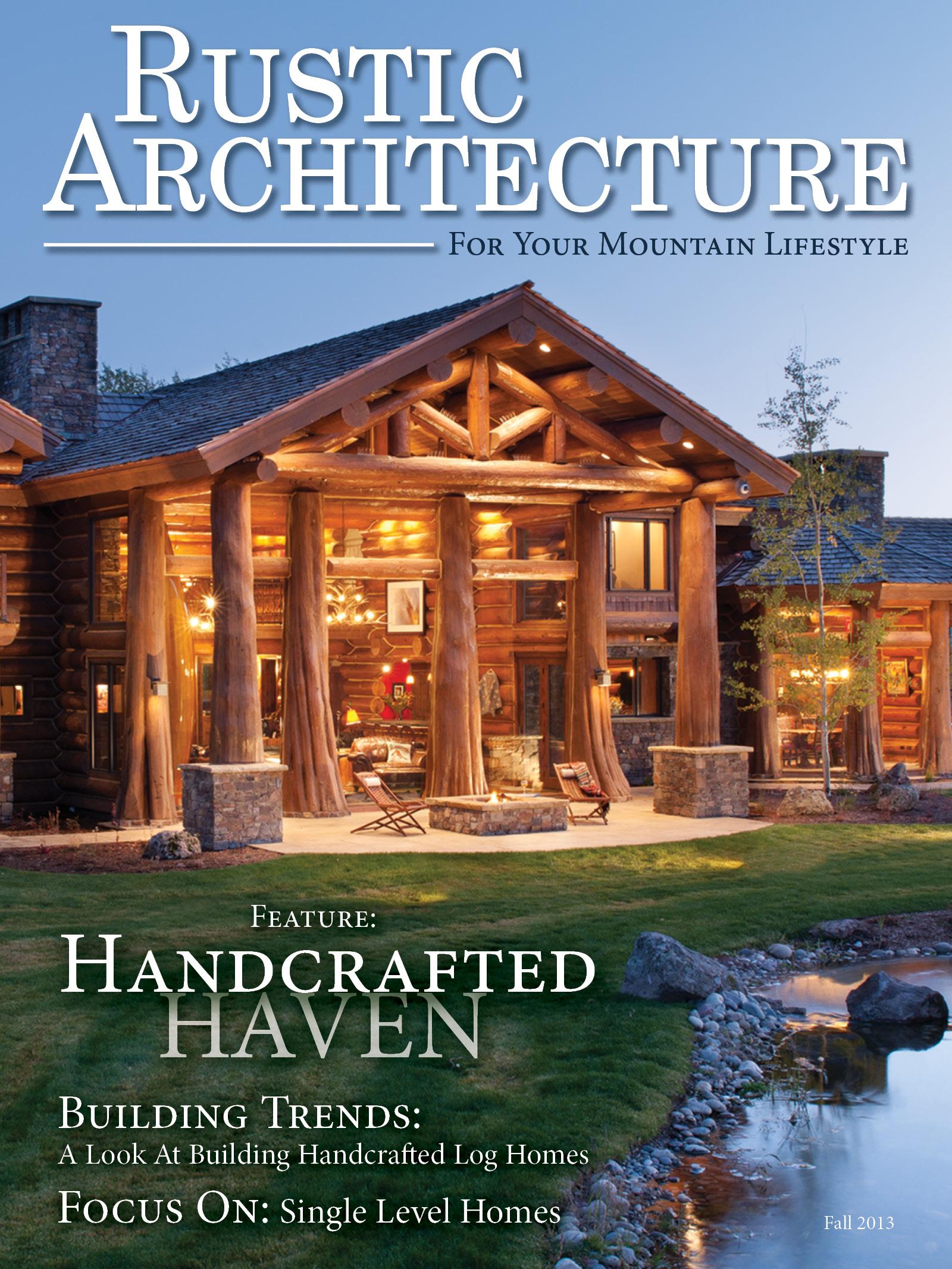 PFB Custom Homes Introduces Rustic Architecture Magazine
