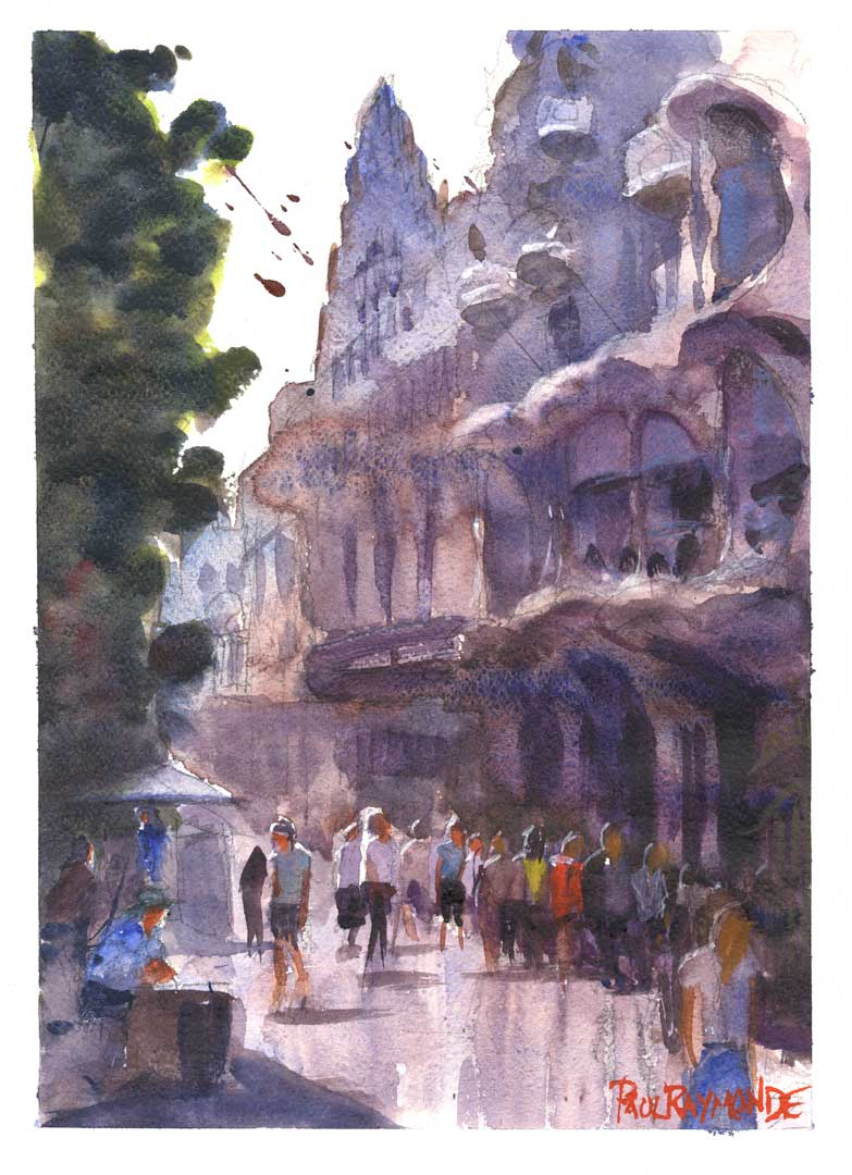 La Terraza Atico Offers One Day Painting Classes in Barcelona