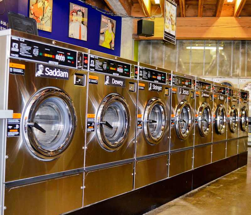 Famous Laundromat Brain Wash Updates Iconic Store with