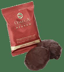 Omega Heaven gluten-free cookie.