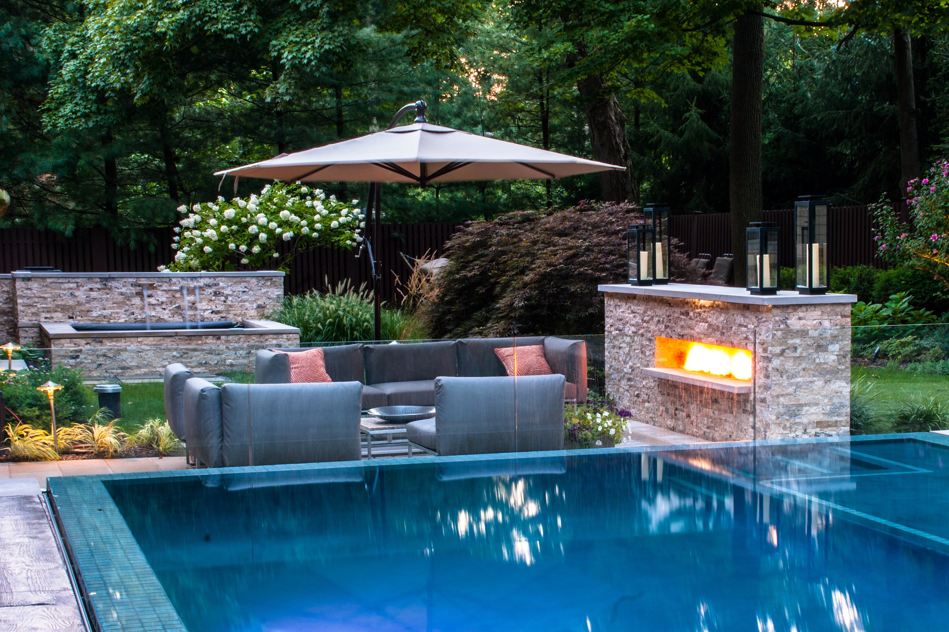 Landscape Design Swimming Pool Interior Design Ideas
