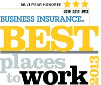 Fourth Consecutive Best Places to Work in Insurance Award ...