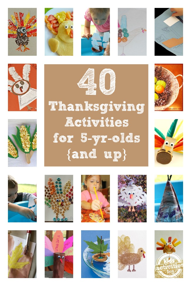 Thanksgiving Activities For 5 Year Olds Have Been Released