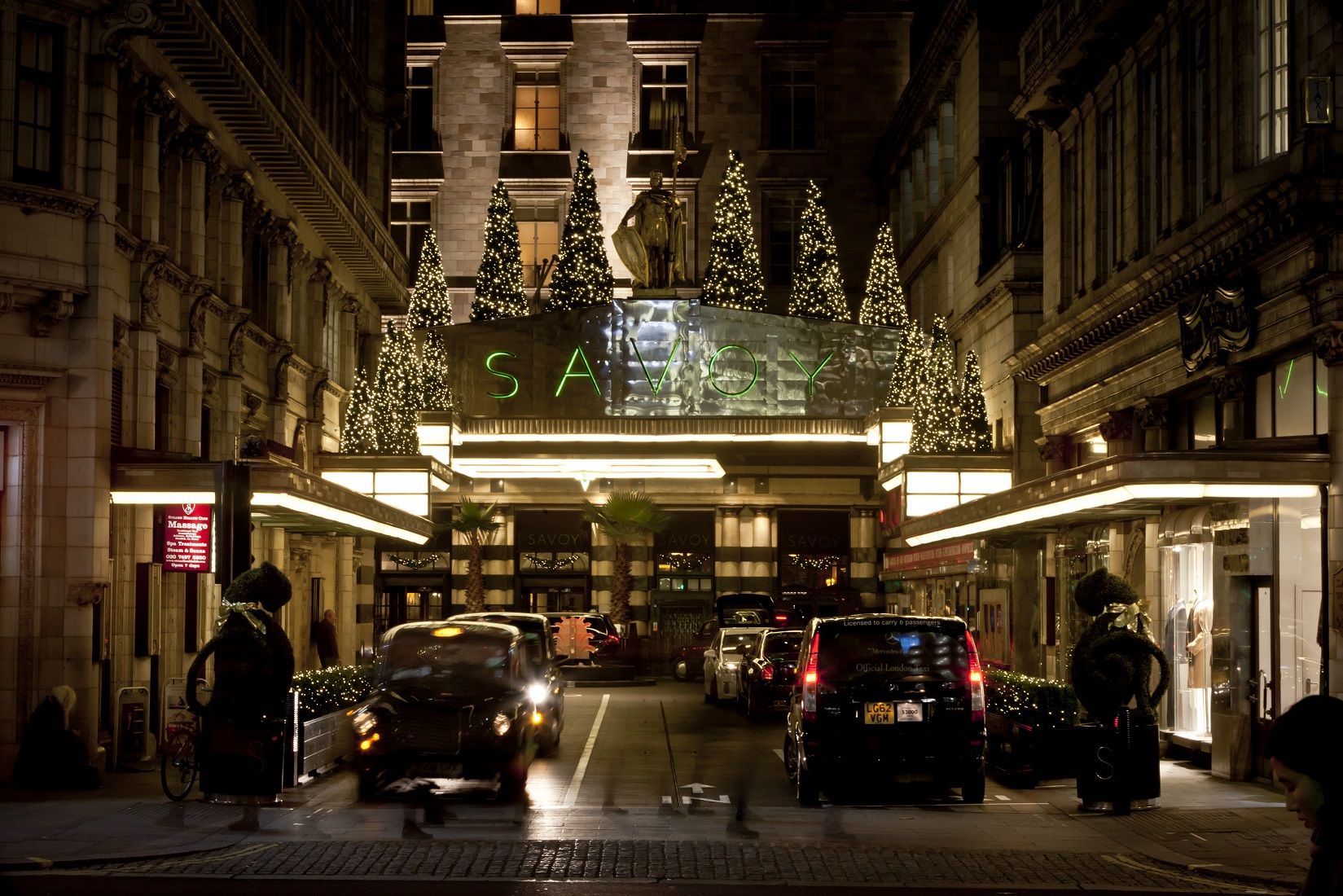 Festive Season at The Savoy in London