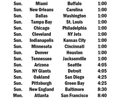Divisional Clashes Highlight NFL Week 16 Schedule