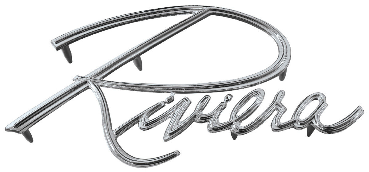 New Buick Riviera Fender Emblem Now Available