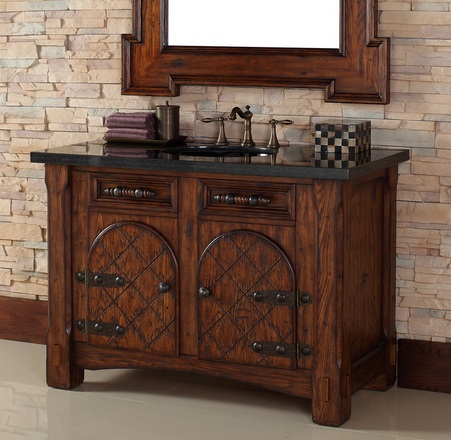 HomeThangscom Has Introduced a Guide to Mediterranean Style Bathroom Vanities
