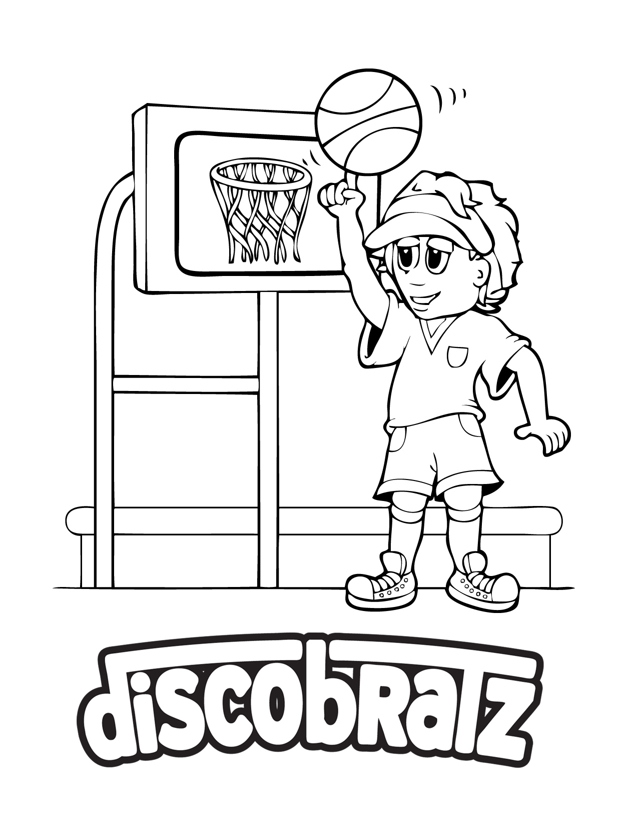 The New DiscoBratz March Madness Coloring Page Is Now