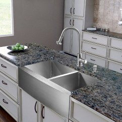 Vigo Kitchen Faucet Cool Cabinets Homethangs.com Has Introduced A Guide To Six Unique Twists ...