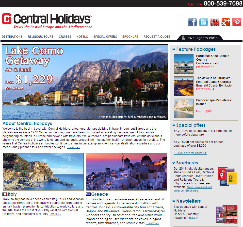 Introducing The New Travel Agent Portal Of Central