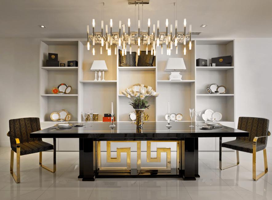 Versace Home Miami Opens In Miamis Design District