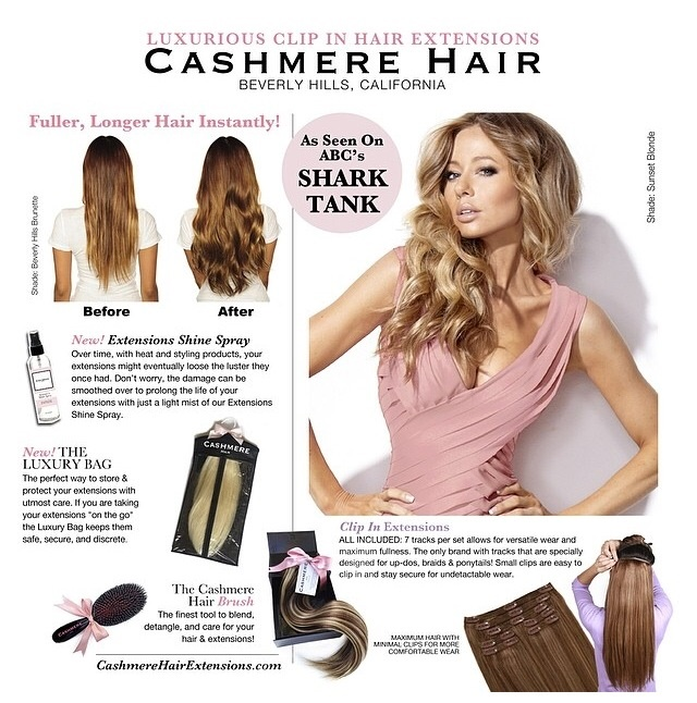 Cashmere Hair Clip In Extensions Announces Their New