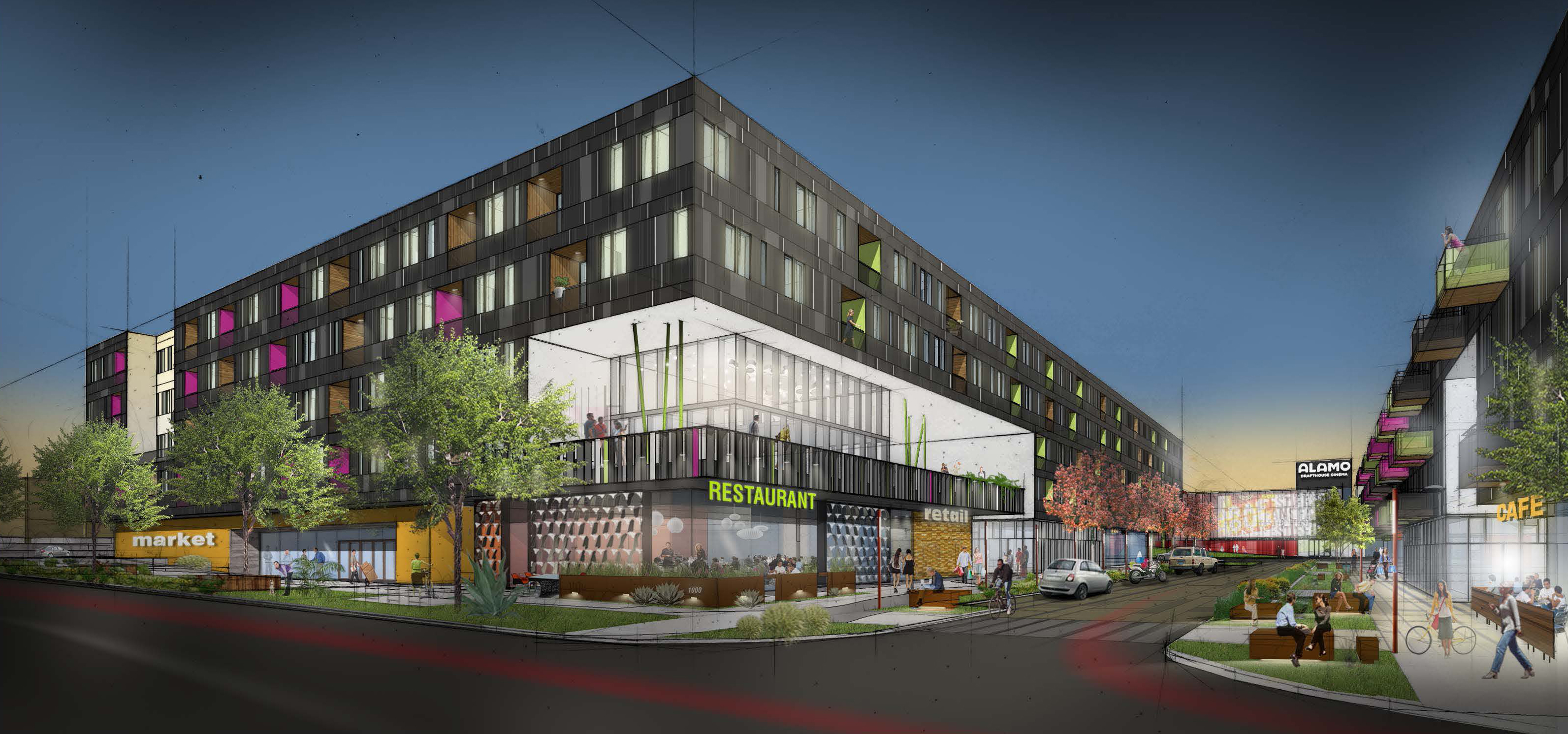 Lamar Union Austin S Newest Model For Mixed Use Urban