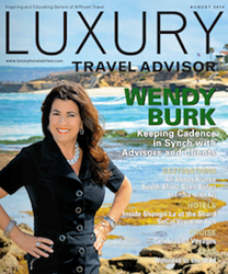 Cadence CEO and Founder Wendy Burk Featured on Cover of Luxury Travel Advisor