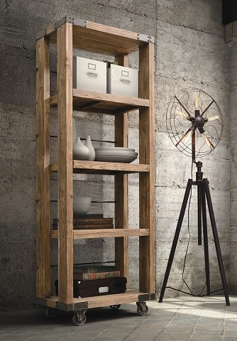 HomeThangscom Has Introduced A Guide To Industrial Style Bookshelves