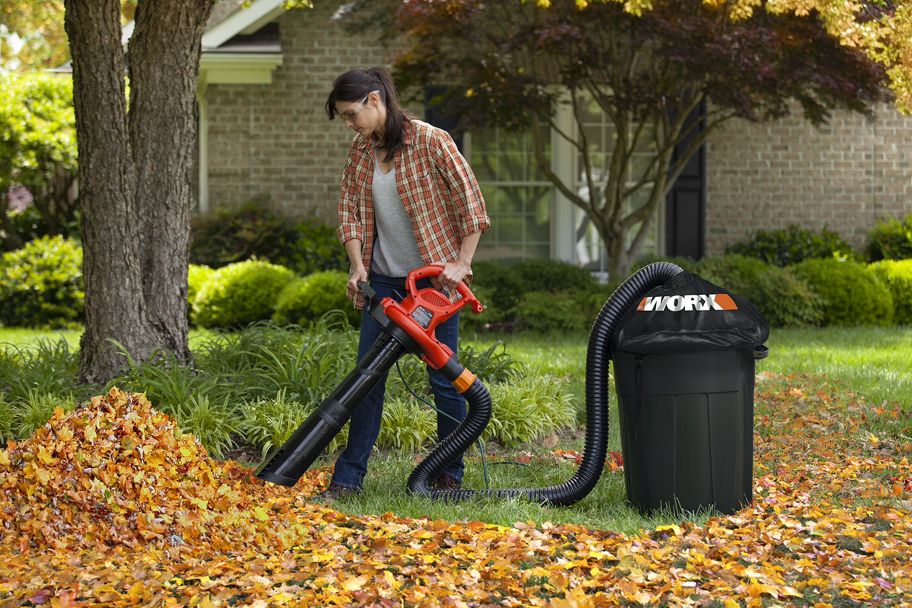 Best Gas Leaf Blower Mulcher