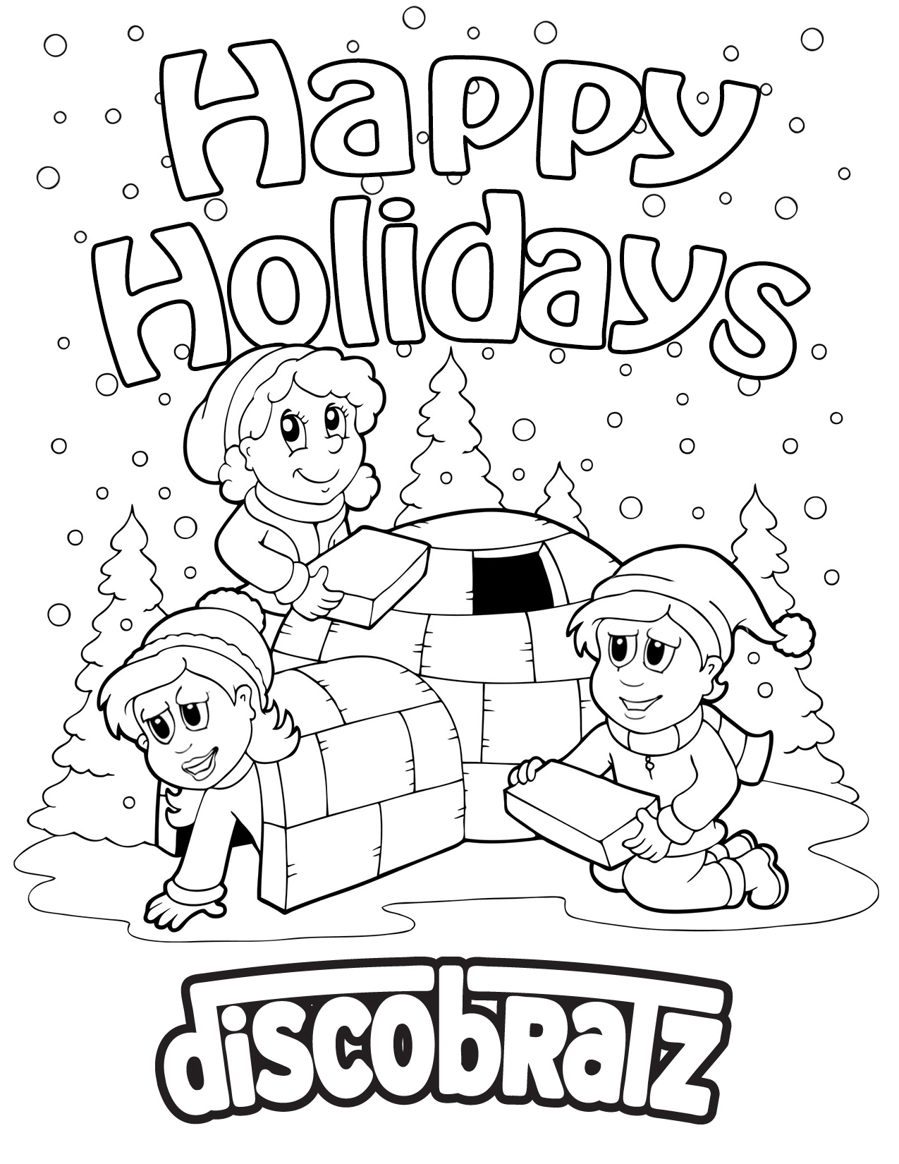 DiscoBratz Welcomes the Winter Weather with a Holiday