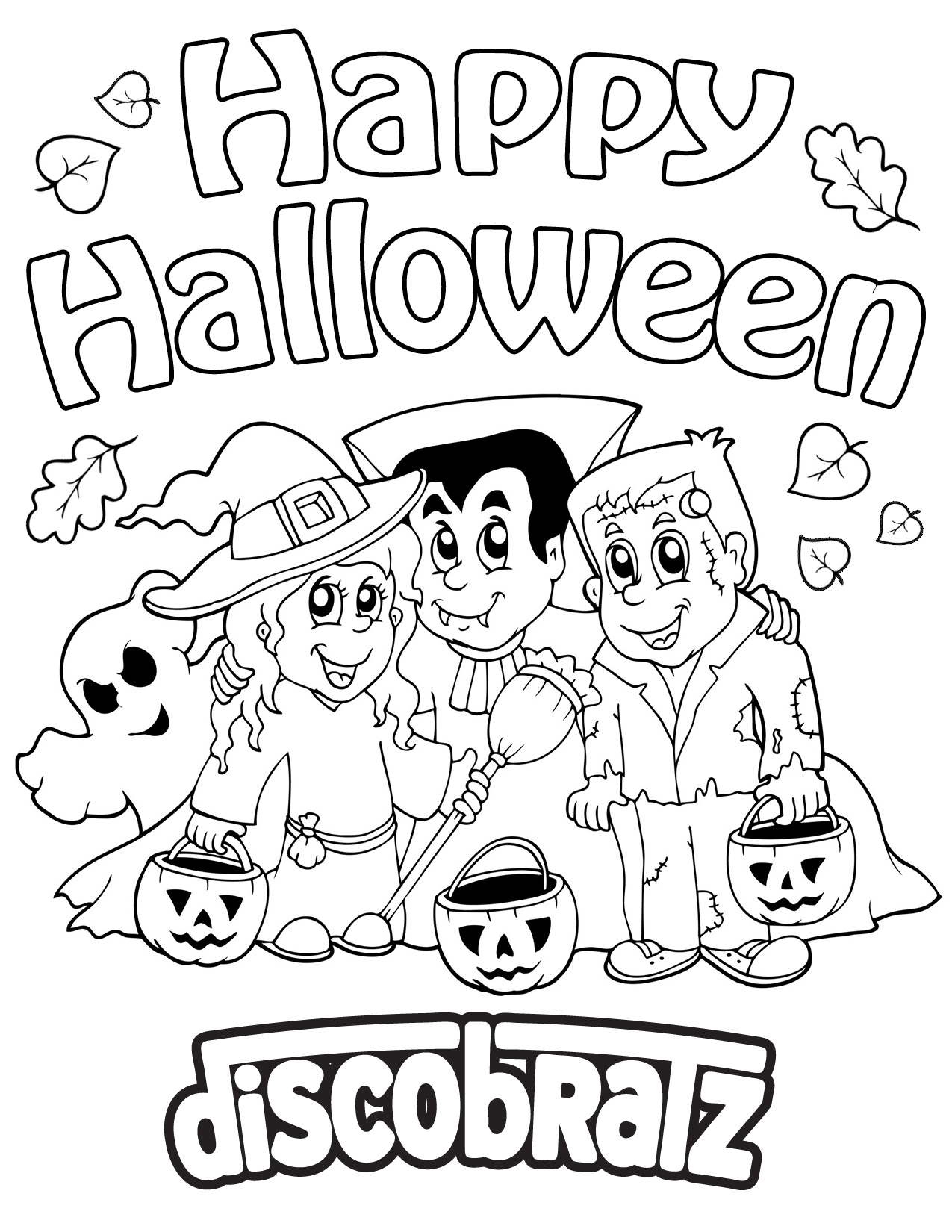 Boo! Get in Halloween Spirit with a New Coloring Page from