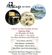 "Benefit Helping Doggies 911 Rescue at ""fiNdings Art Gallery"" San Pedro's First Thursday Feast & Music Street Gala Nov 6, 6-9 PM airing on Dr. Carol Francis Talk Radio"