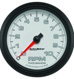 pro cycle by auto meter bagger tachometer  [ 900 x 901 Pixel ]
