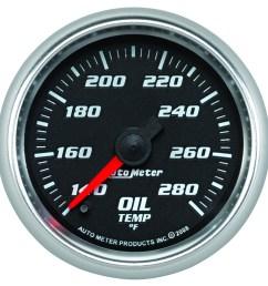 pro cycle by auto meter bagger oil temperature gauge cobalt series [ 900 x 901 Pixel ]