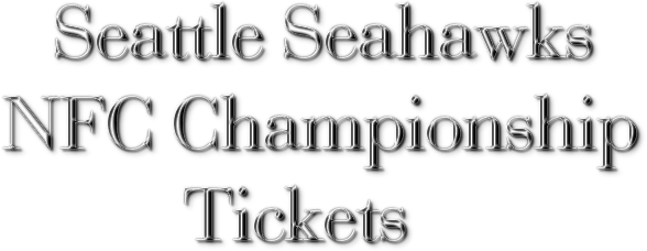 Seahawks NFC Championship Tickets: Ticket Down Slashes