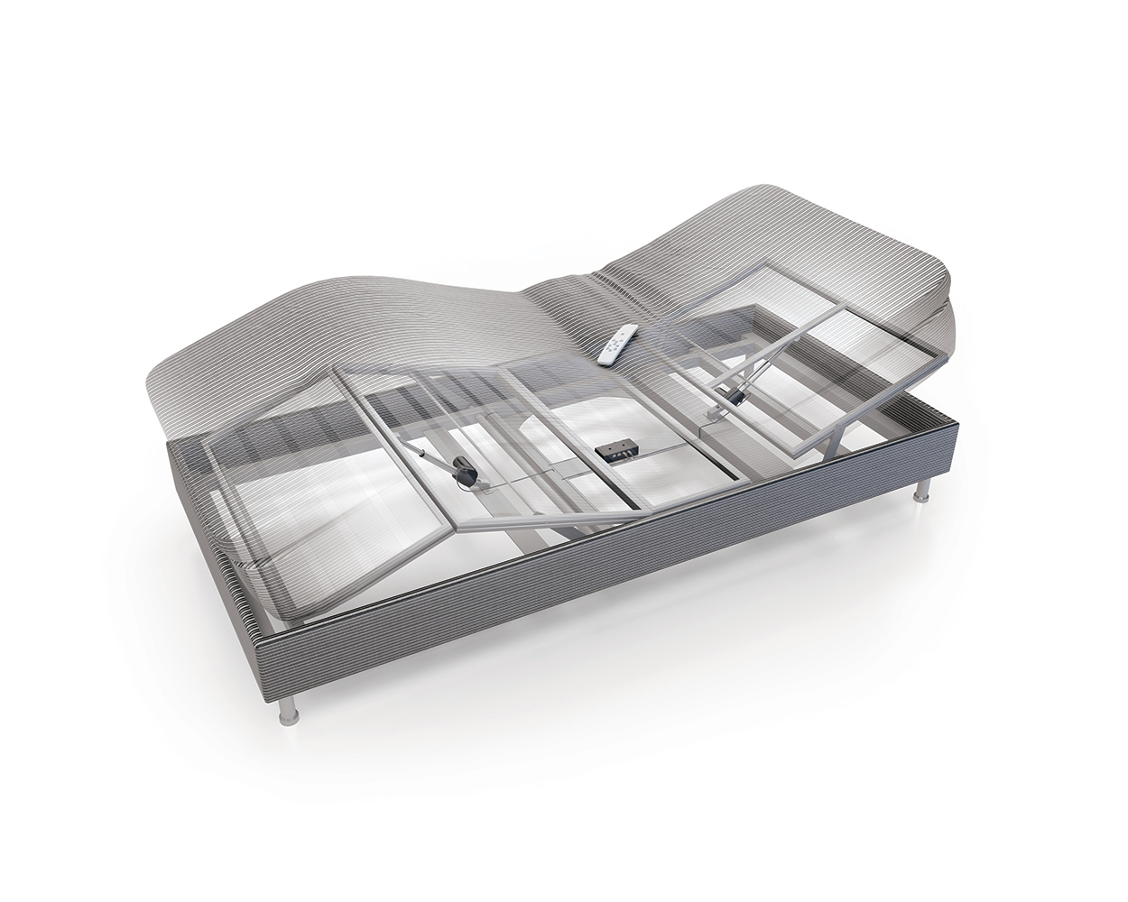 A New Single Actuator System For Leisure Beds Has Been
