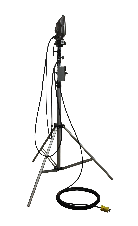 Larson Electronics Releases Portable Led Flood Light On Telescoping Tripod