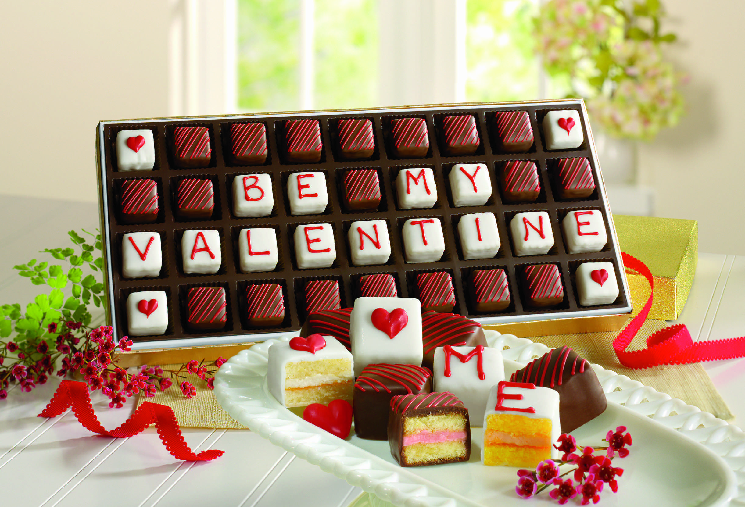 Valentines Day Chocolates And Sweets For Sweeties Are