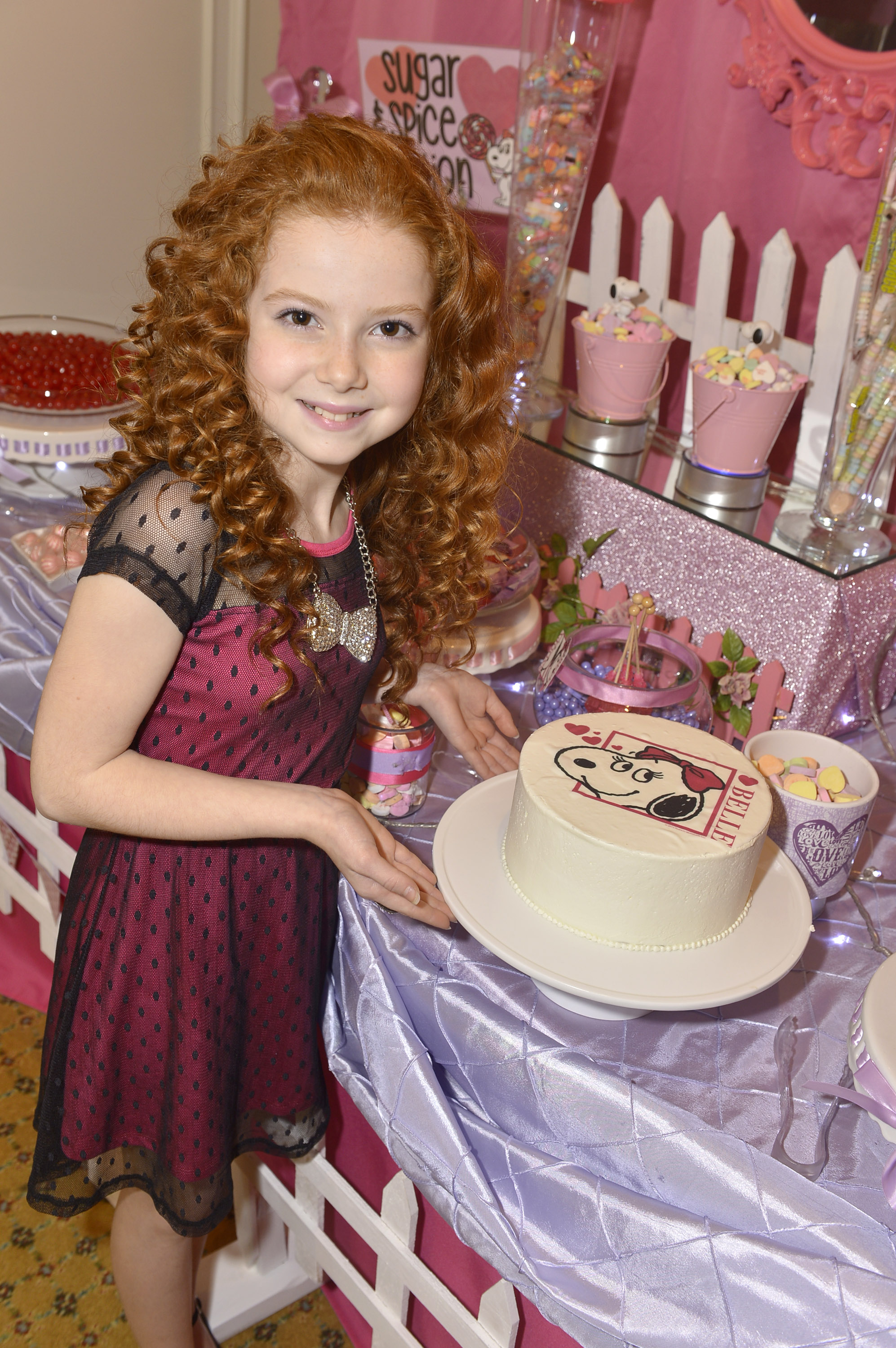 Francesca Capaldi The Little Red Haired Girl Of Upcoming