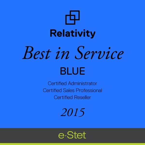 Ediscovery Provider -stet Receives Relativity In