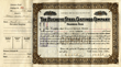 Scripophily.com has Special of Buckeye Steel (Bush Family) Stock Certificates from the 1930's and Roberts Petroleum Torpedo Fracking Stock Certificates from the 1860s