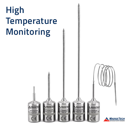 MadgeTech High Temperature Data Logger Series Expands for