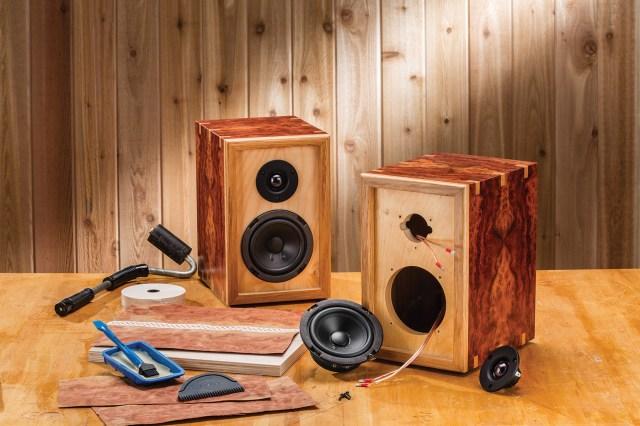 Rockler Introduces DIY Bookshelf Speaker Kits - Users Build Custom ...