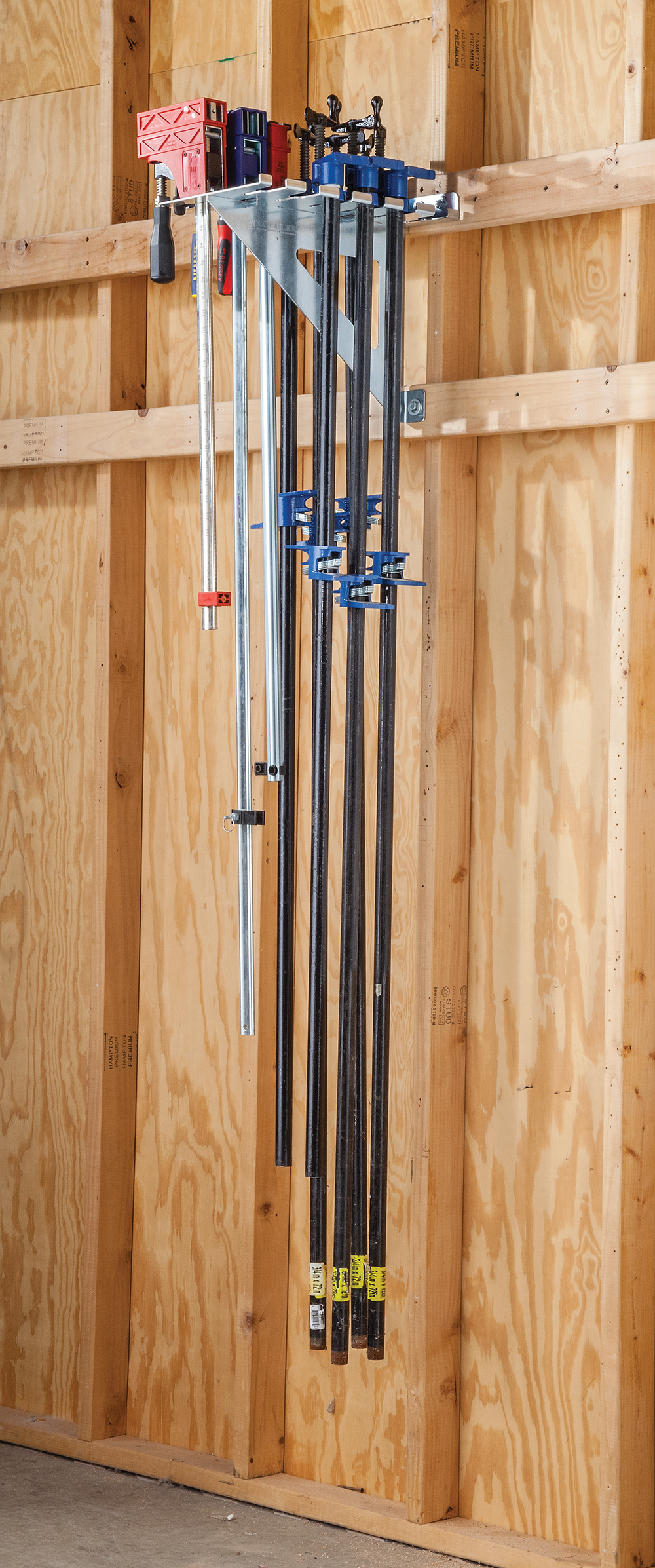 Rocklers New HD Clamp Rack Provides Organized Storage