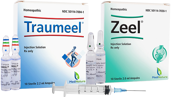 Medinatura S Traumeel 174 And Zeel 174 Injections Are