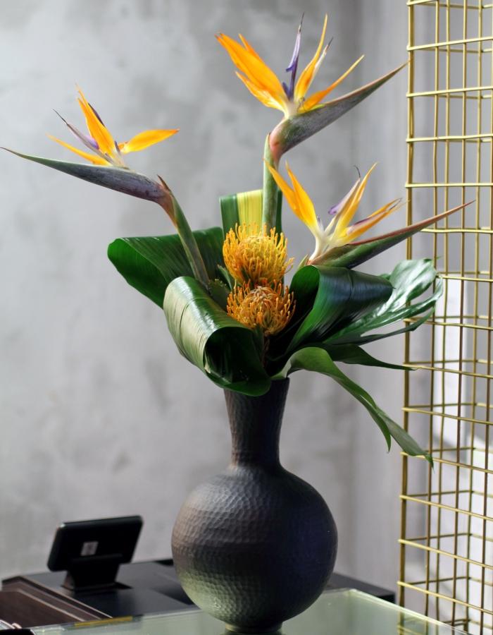 Bamboo Flower Arrangements