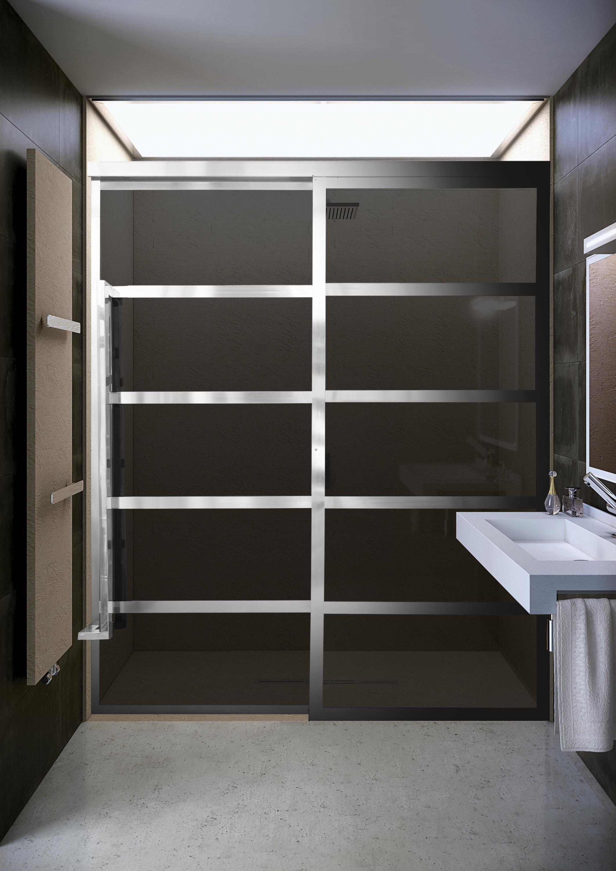 Coastal Shower Doors To Debut New Gridscape GS2 Barn Door