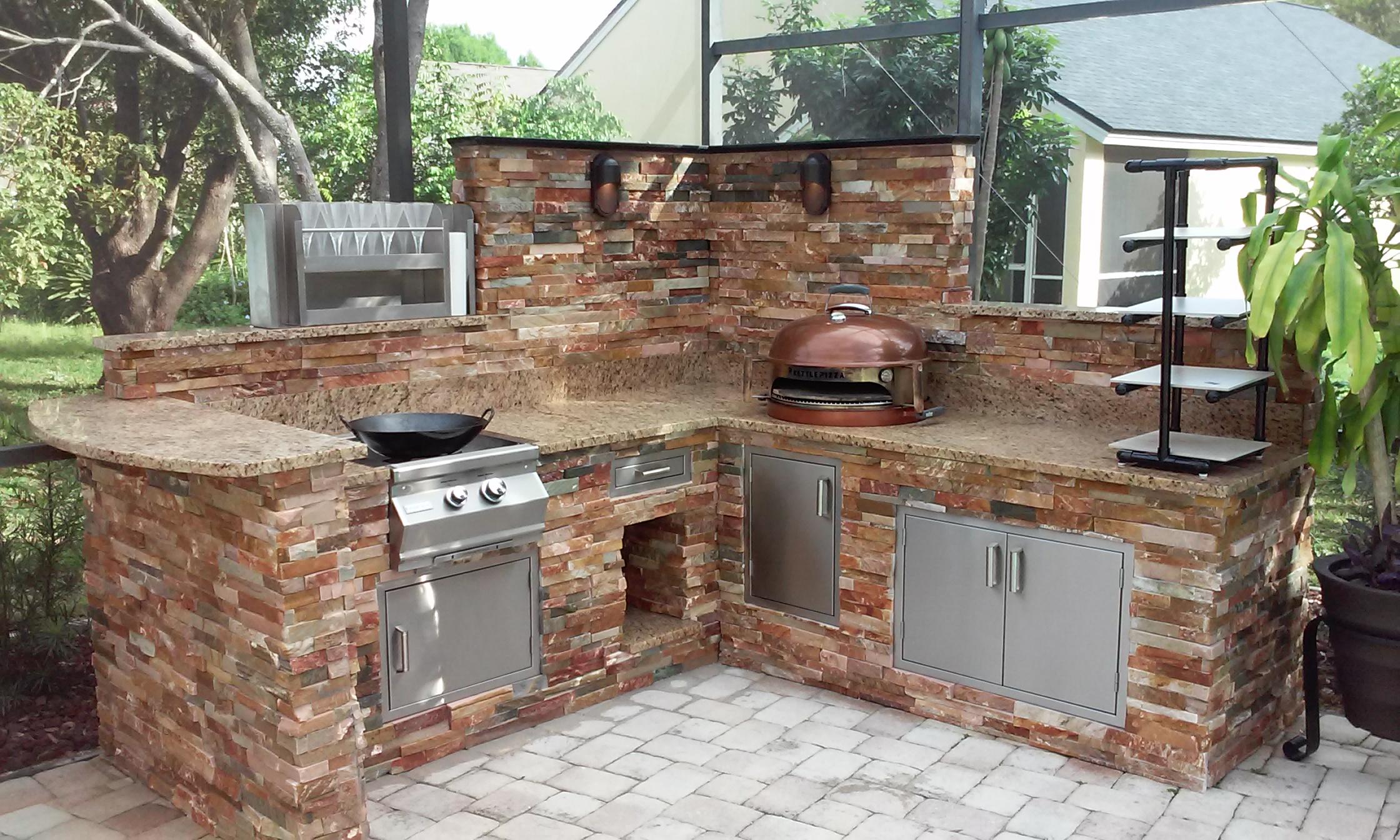 outdoor kitchens orlando modern kitchen designs elite helps homeowners turn up heat on home values