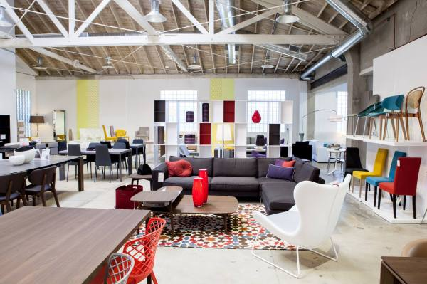 Modern Contemporary Furniture Store Showroom In Los