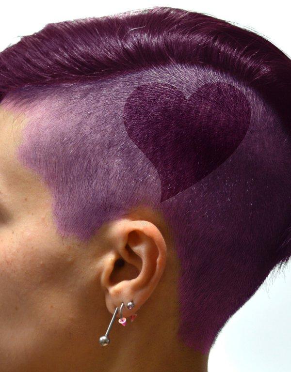 Pencil Hair Design