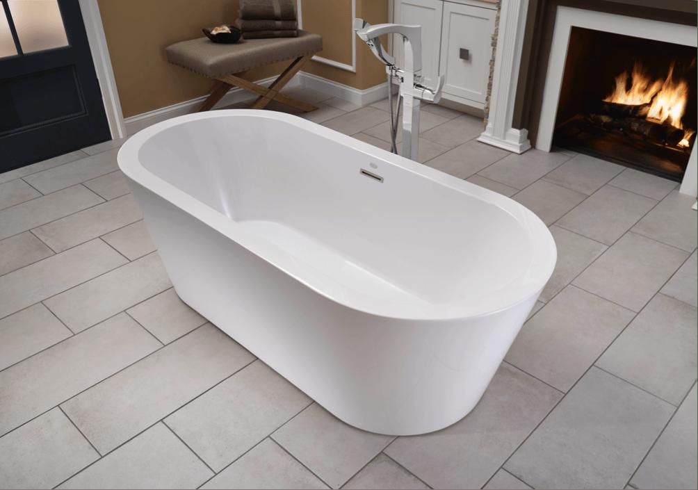 Jacuzzi Luxury Bath Introduces the Celeste Freestanding Bathtub