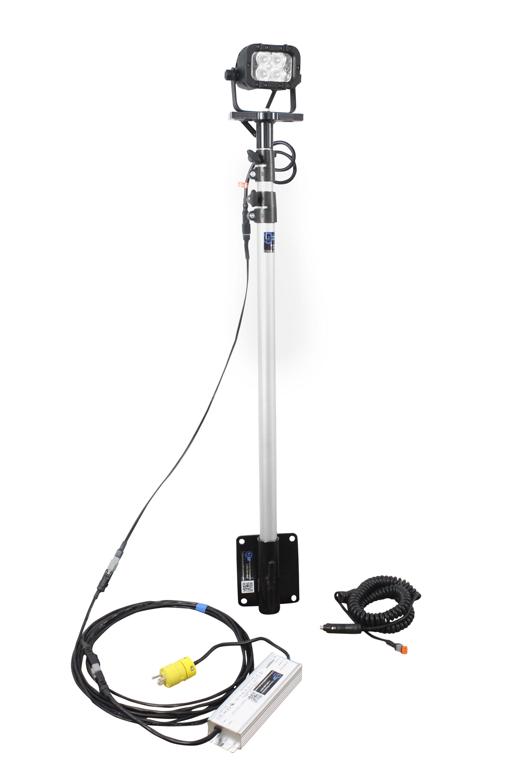 12 Watt Portable Led Telescoping Light Pole Released By