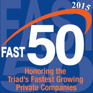 Sunrise Technologies Named To Triad Fast 50 For Ninth