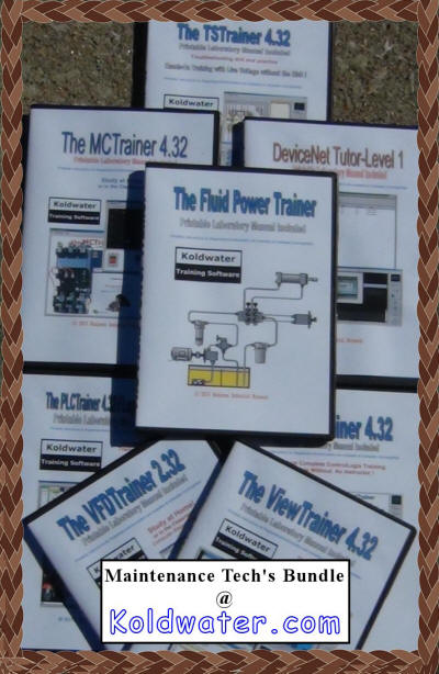 Electrical Plc Motor Control Hydraulics Training Software