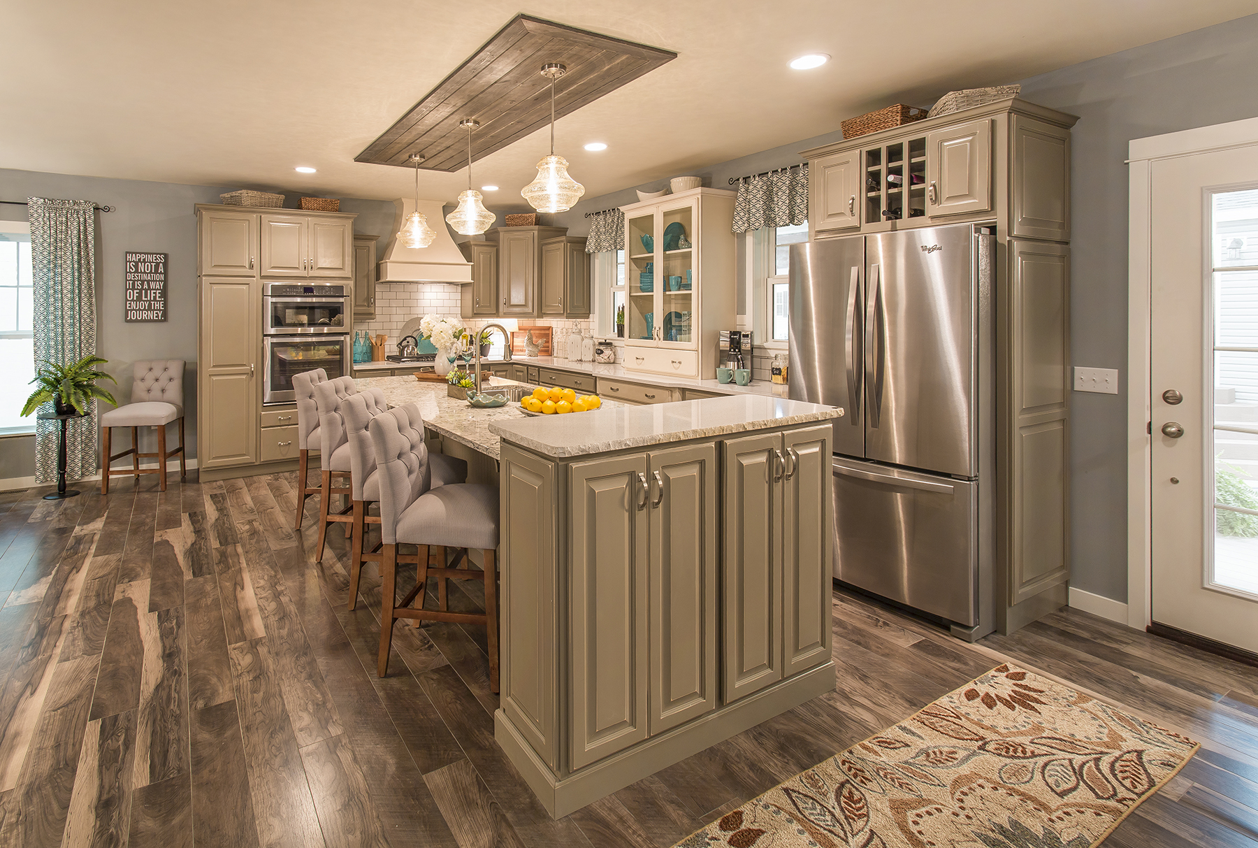 kitchen science aid classic ritz-craft custom homes honored by national awards program